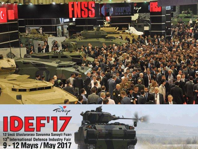 """Українська зброя на виставці військової техніки """"IDEF-2017"""" (м. Стамбул, Туреччина)"""