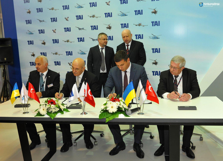 """""""Укроборонпром"""" і """"TAI"""" співпрацюватимуть в галузі безпілотної техніки"""