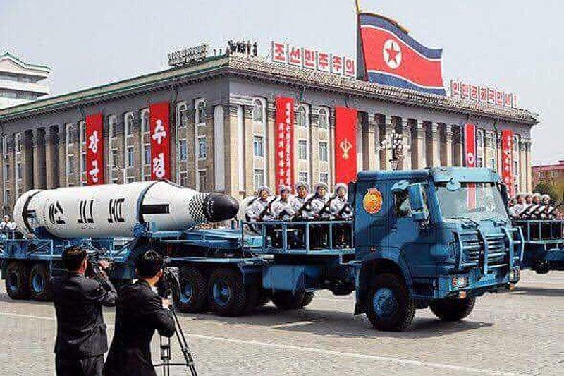 Ракета, запущена КНДР, впала в 100 км від Владивостока