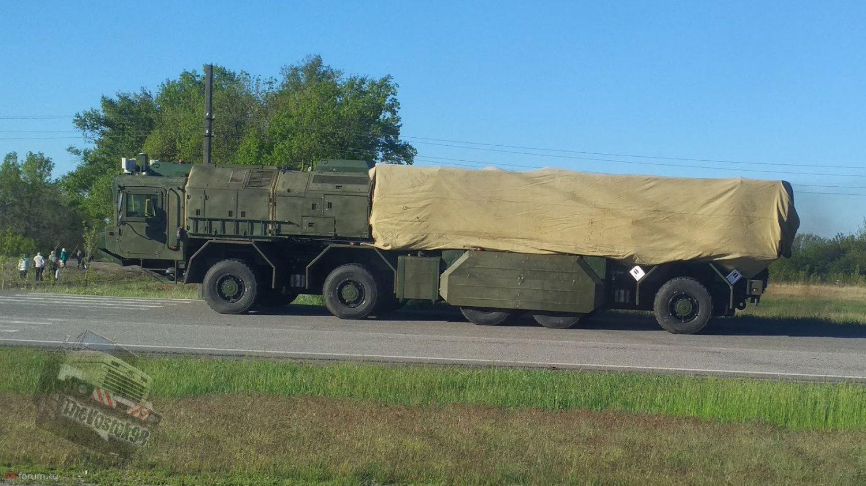 З'явилися фото самохідної пускової установки оперативно-тактичного ракетного комплексу «Грім»