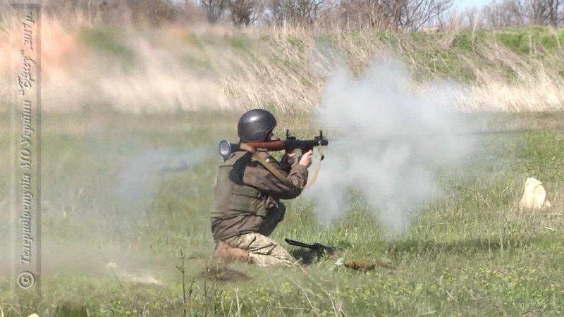 Вогнева підготовка військових моряків комендатури забезпечення ВМС України.
