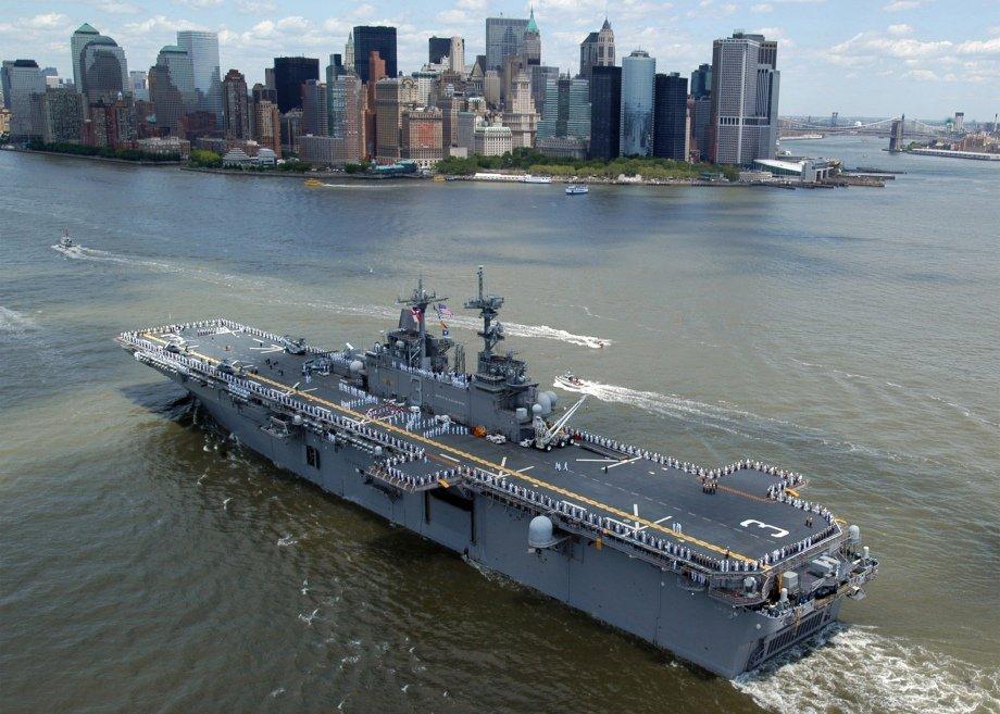 USS Kearsarge: «робоча конячка» американського флоту