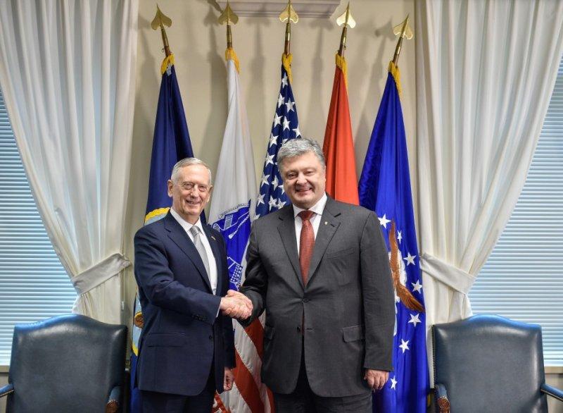 Президент України зустрівся з Міністром оборони США