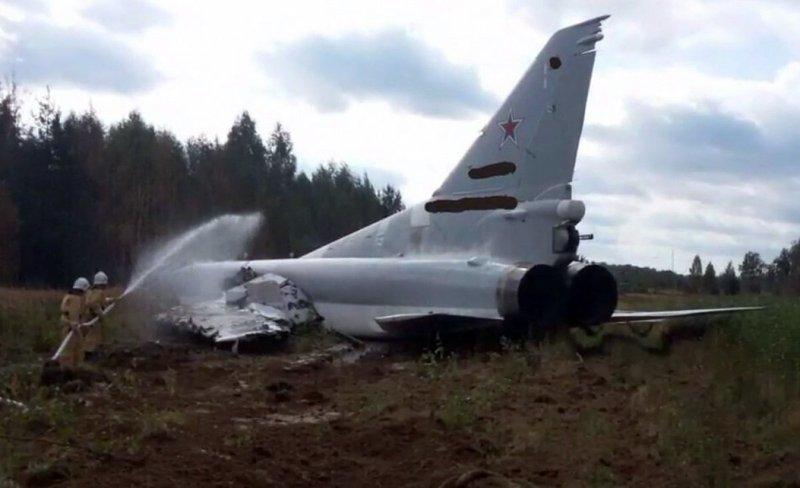 У РФ розбився ракетоносець-бомбардувальник, який брав участь у «Захід-2017»