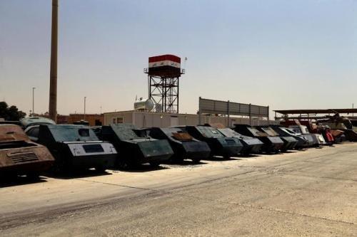Бойовики ІД навчилися робити броньовики зі звичайних автомобілів