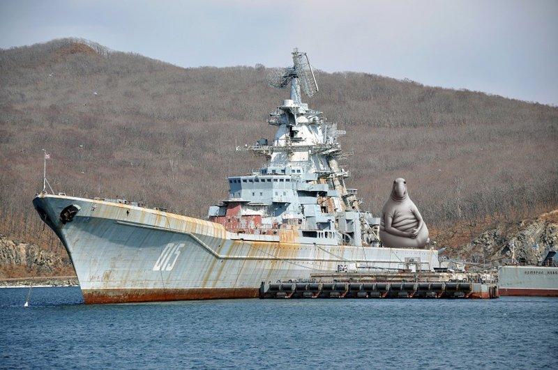 Російські вбивці авіаносців впадають в кому
