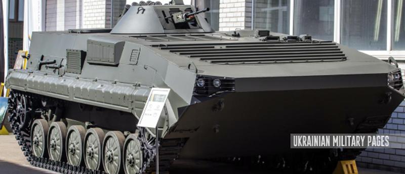 НВО «Практика» показало модернізовану БМП-1