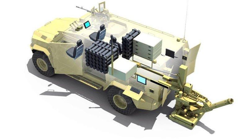«Зброя та безпека 2017»: бронеавтомобіль «Барс» з новим арсеналом