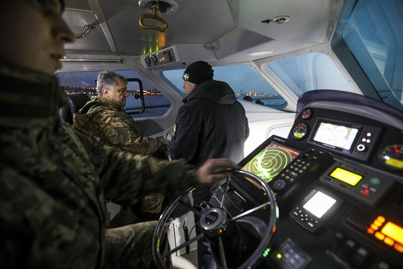 Ходові випробуваня катера УМС-1000
